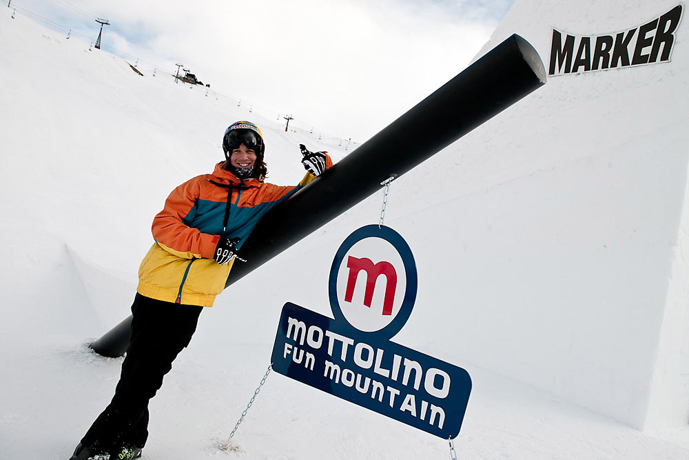 Graham on Mottolino Fun Mountain © Klaus Polzer